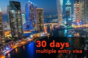 30 days Multiple Entry