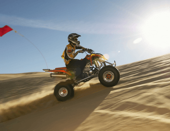 morning safari with quad biking Dubai