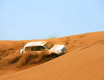 desert safari with vip ac majilis dubai
