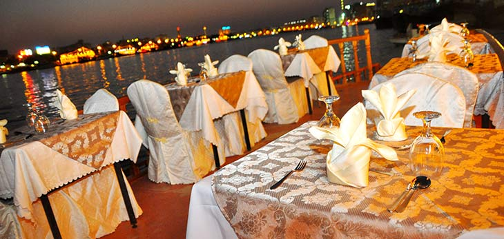 dhow dinner dubai city