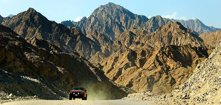 hatta mountain safari dubai