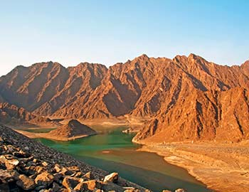 hatta mountain safari in dubai