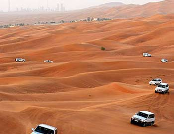red dune safari dubai city